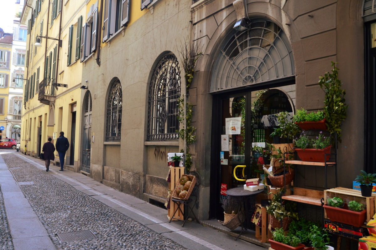 Brera - bohemian quarter in the heart of Milan