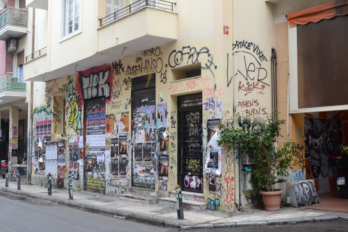 Is Athens the new Berlin?
