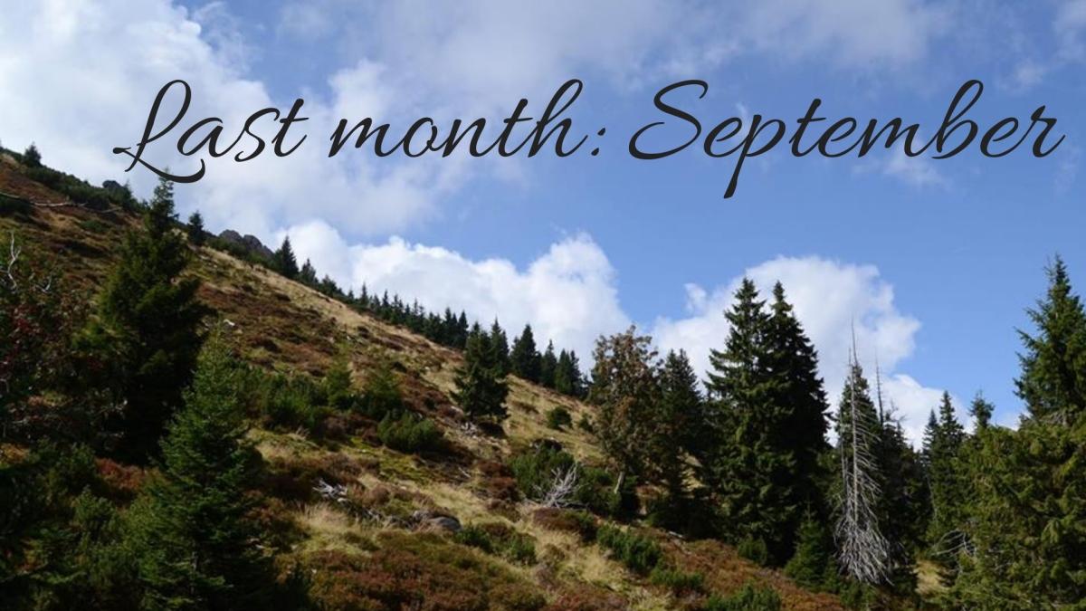 Last month: September