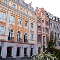 Strolling through colourful Riga